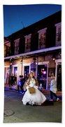 Boubon Bride - New Orleans Beach Towel
