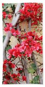 Bougainvillea Beach Towel