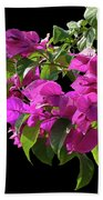 Bougainvillea Cutout Beach Towel