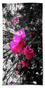 Bougainvillea Invasion Beach Towel
