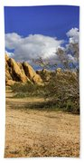 Boulders At Apple Valley Beach Towel