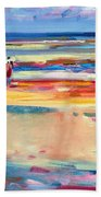 Boulevard De Boudin Beach Towel