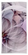 Bound Away - Fractal Art Beach Towel