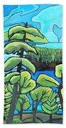 Boundary Waters Beach Towel