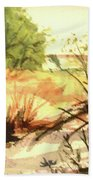 Bouquet Canyon Wash 2 Beach Towel