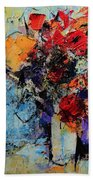 Bouquet De Couleurs Beach Towel