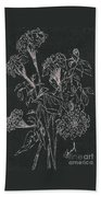 Bouquet Of Flowers  Beach Towel