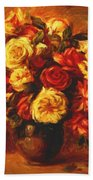 Bouquet Of Roses 1 Beach Towel