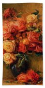 Bouquet Of Roses 1900 Beach Towel