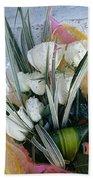 Bouquet Of Roses Beach Sheet