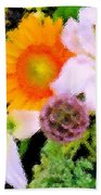 Bouquet Softly There Beach Towel