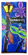 Bourbon Street Original Beach Towel