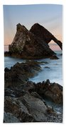 Bow Fiddle Rock At Sunset Beach Sheet