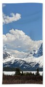 Bow Lake Vista Beach Towel