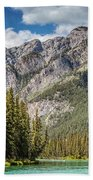 Bow River Banff Alberta Beach Towel