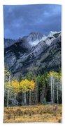 Bow Valley Parkway Banff National Park Alberta Canada II Beach Towel