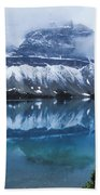 Bow Valley Storm Beach Towel