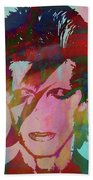 Bowie Reflection Beach Towel