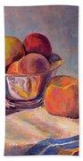 Bowl With Fruit Beach Sheet