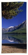 Bowman Lake Beach Towel