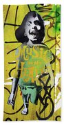 Boy In Yellow Beach Towel