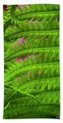 Bracken Fern Beach Towel