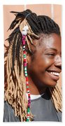 Braided Lady Beach Towel