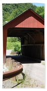 Braley Covered Bridge Beach Towel