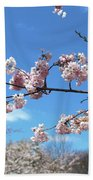 Branch Of Blossoms Beach Towel