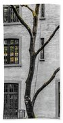 Branches And Windows Beach Towel