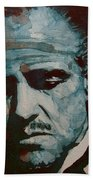 The Godfather-brando Beach Towel