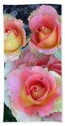 Brass Band Roses Beach Towel
