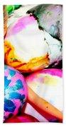 Brat Egg Head Beach Towel