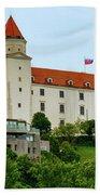 Bratislava Castle One Beach Towel