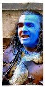 Braveheart Busker In Edinburgh Beach Towel