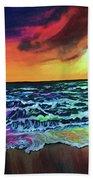 Brazilian Sunset Beach Towel