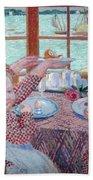 Breakfast Beach Towel