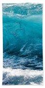 Breaking Wave At Kekaha Beach Beach Towel