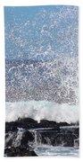Breaking Waves Beach Towel