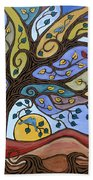 Breeze Among The Branches Beach Towel