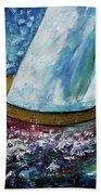 Breeze On Sails -2  Beach Towel