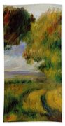Breton Landscape Trees And Moor 1892 Beach Towel