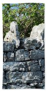 Briars And Stones New Quay Ireland County Clare Beach Towel