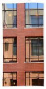 Brick Building Beach Towel