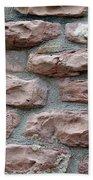 Brick Grungy Texture Beach Towel