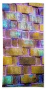 Brick Wall In Abstract 499 S Beach Towel
