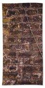 Vine Up A Brick Wall  Beach Towel