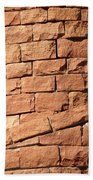 Bricks Spiraling Beach Towel