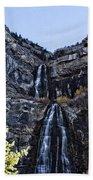 Bridal Veil Falls Provo Utah Beach Towel