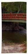 Bridge At Morikami Beach Towel
